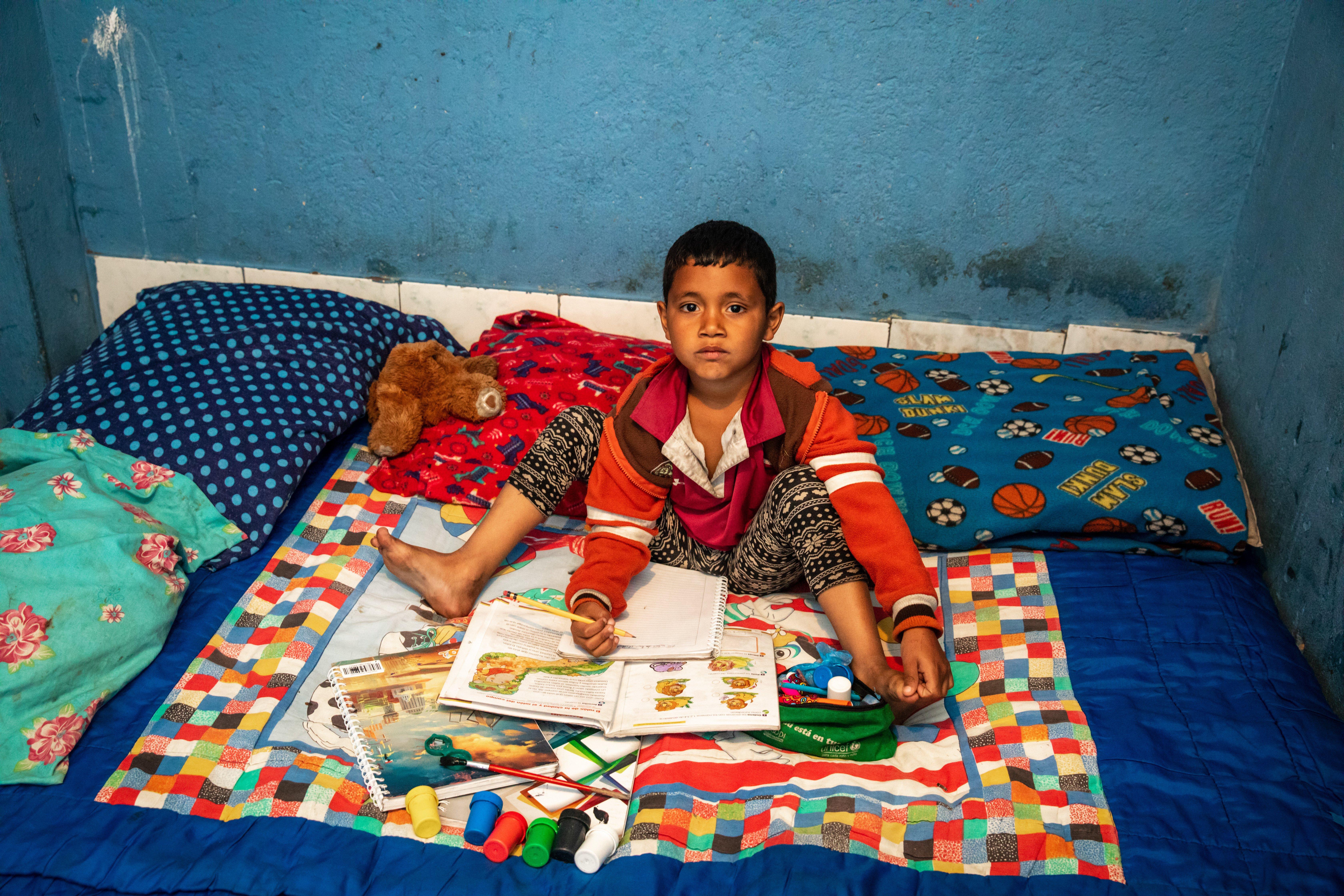 Sueños en espera: La realidad de una familia migrante