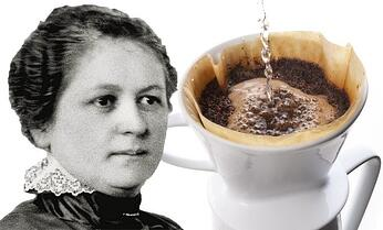 filtro del cafe