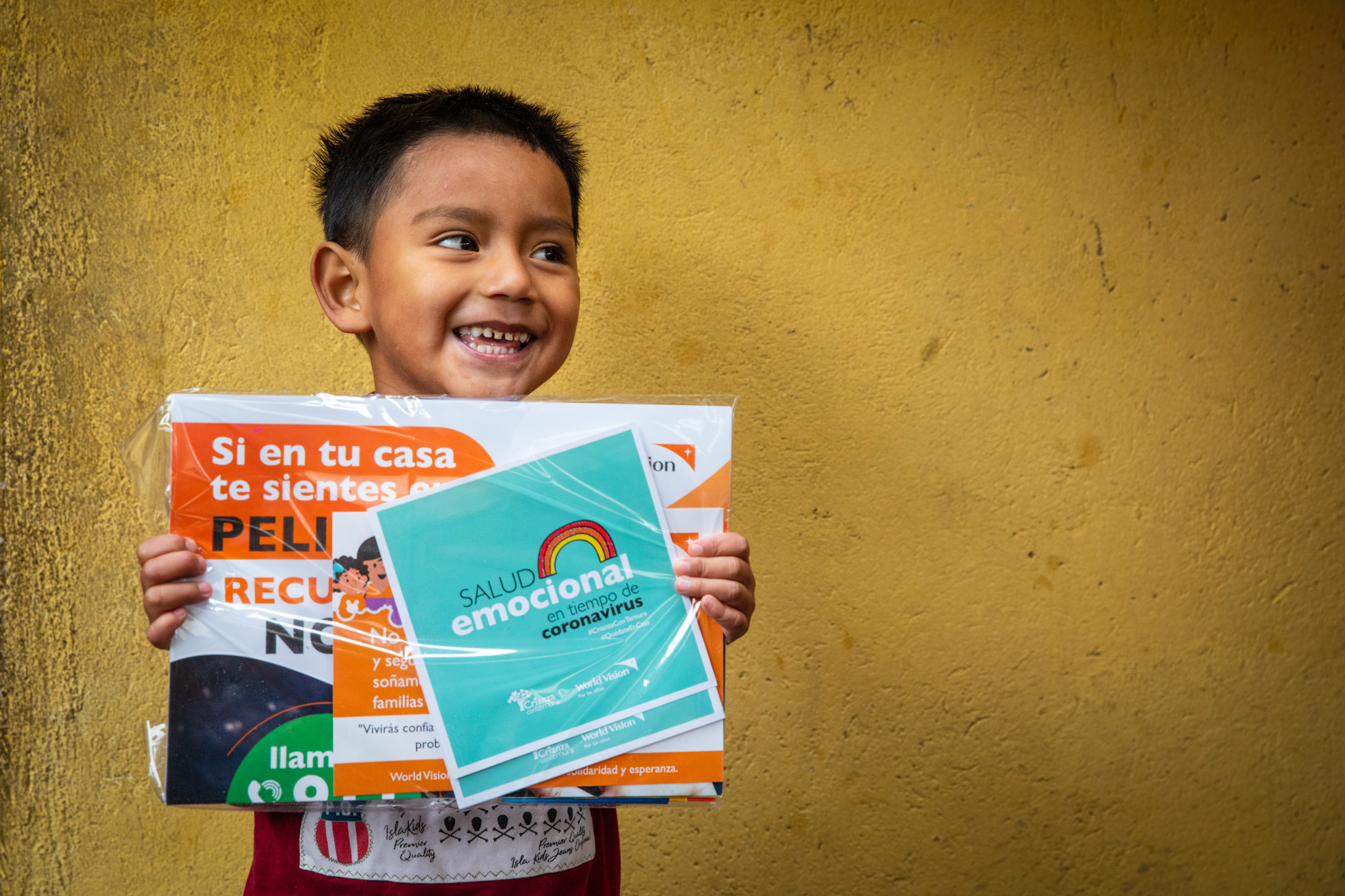 Niño patrocinado por World Vision Ecuador en Quito